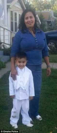 Jesus Ismenia Marinero, age 45, of Omaha, NE was killed by her 25 year old son on May 7, 2015. The son also threw is 5 year old brother Josue, into a river.