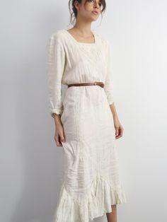 Bohemian Cotton Dress // SOLD