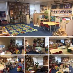A collage of my early years classroom. Oct '16
