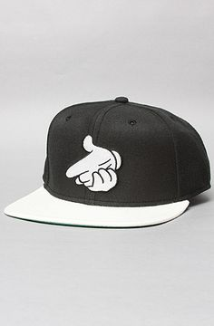 The Airguns Snapback Cap in Black by Crooks and Castles