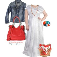 Check out some Plus Size Maxi Dresses for summer, featuring Lee Lee's Valise, Catherines Plus Sizes and ModCloth.