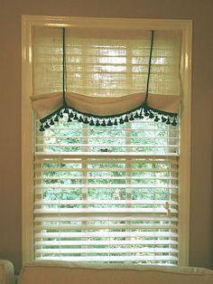 no sew burlap window treatment, home decor, window treatments, windows, No sew…