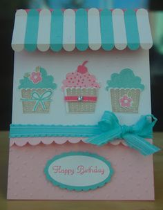 Julie Kettlewell - Stampin Up UK Independent Demonstrator - Order products 24/7: Cupcake Crazy Part 1