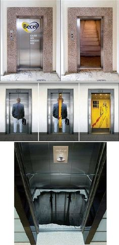 Top Creative Works » Creative elevator decoration designs www.vacuumelevators.com #PneumaricVaccum #Elevators