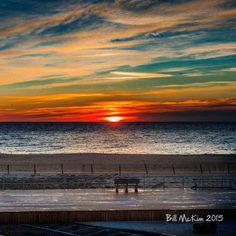 Bill McKim beach at Belmar