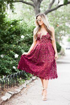 NYFW Self Portrait dress blogger