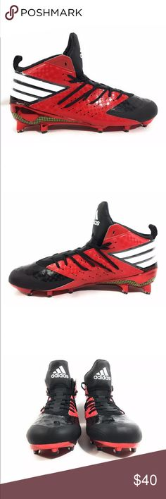 official photos 0b1dc 3087d ADIDAS Freak X Kevlar Football Cleats Men s 12.5 Brand  Adidas Freak X  Kevlar Football Mid Cleats Red Black AQ7189 Condition  New without box Size   12.5 US ...