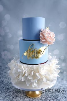2016 Pantone Colors; Rose Quartz and Serenity: Miss Shortcakes, facebook