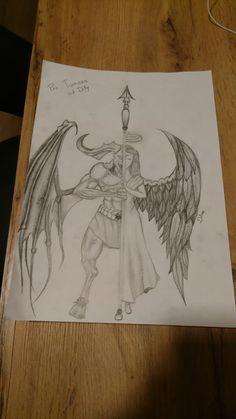 Draw angeldemon