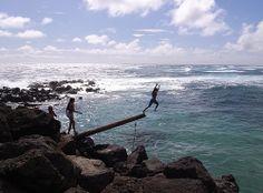 Plank at Makapuu ☼ History, culture and fun - things to do in Oahu Hawaii http://www.thewondermap.com/things-to-do-in-oahu-hawaii/