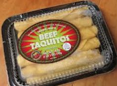 Beef Taquitos from Trader Joes...only two Weight Watcher's points!