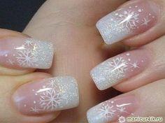 Новогодний дизайн ногтей 2014 – год Лошади