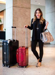 DadyParra.com | Inspiração: Aeroporto Look!!! | http://dadyparra.com
