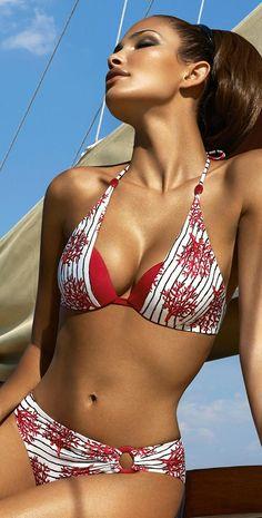 Maryan Mehlhorn 2014 Coral Tree Underwire Bikini 5641-202-588