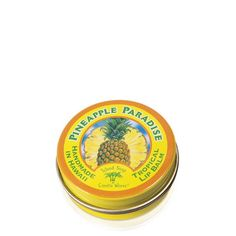 Island Soap & Candle Works Pineapple Paradise Lip Balm Tin