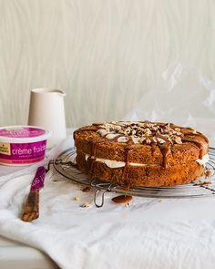 Trois Crèmes Cake - Crème Fraîche Cake with Crème Fraîche Filling ...