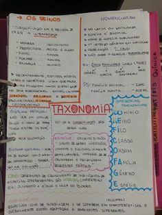 TAXONOMIA Mental Map, Writing Lists, Notebook Organization, Knowledge And Wisdom, School Subjects, Study Inspiration, Studyblr, Study Notes, Study Motivation