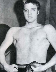 Elvis Posing for the Camera