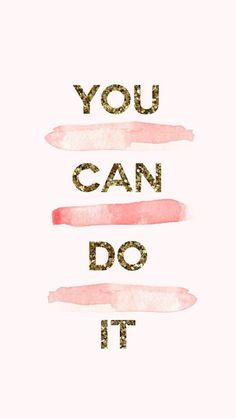 You can do it | @chenebessenger ▿