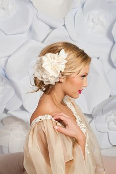 Love these hairpieces!