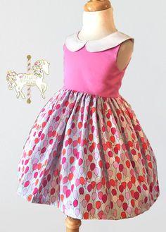 Birthday Girl Dress Balloon Dress Special Occasion Dress