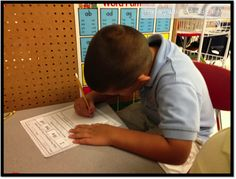 First grade literacy stations