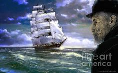 Stormy Sea, His Eyes, 2 In, Sailing Ships, Beverly Hills, Digital Art, The Past, Instagram Images, Coast