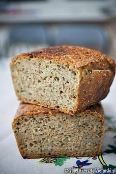 Chleb najprostszy z ziarenkami Thermomix Bread, Polish Recipes, Quick Easy Meals, Bread Recipes, Banana Bread, Food To Make, Food And Drink, Healthy Recipes, Brownies