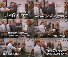 sporkula: The Office 'Heavy Competition' Best Of The Office, The Office Show, Us Office, Office Fan, Office Jokes, Funny Office, Best Tv Shows, Best Shows Ever, Michael Scott Quotes