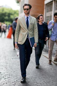 Street Style, Milan Menswear Spring 16', Buro 24/7