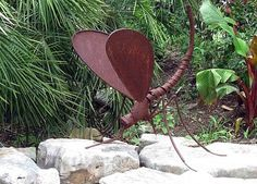 great dragonfly sculpture