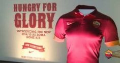 Nike As Roma : the new 2014/15 AS Roma Home Kit