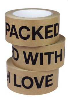 Packing tape.