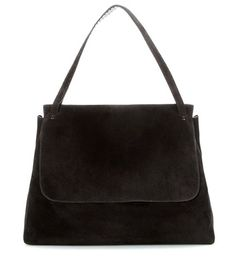 The Row Top Handle 14 Suede Shoulder Bag For Spring-Summer 2017