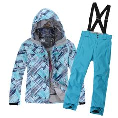 Outdoor single 686 rossignol ski suit female skiing pants male Women skiing set women's-inJackets from Apparel & Accessories on Aliexpress.c…  $70 for set