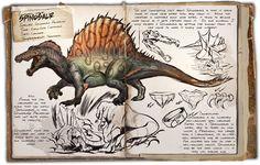 Spinosaurus ARK: Survival Evolved