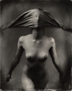 Photography, Large format in People, Nude, Female, Century Studio 4a camera, 8x10, Wetplate collodion, Part of the