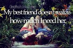 I wouldn't know what I would do without them...I wouldn't know what to do with my life...I'd just...cry. To all my best friends, I love you guys so much! We've been through a lot of fighting, crying, jealousy, boys, laughing, loving, and just being with each other :) it hurts that I know in the future we won't be able to spend as much time as we do now with each other cause we will be separated next year :( I will cry at your graduation and I cried at your graduation Erica. I love you guys!