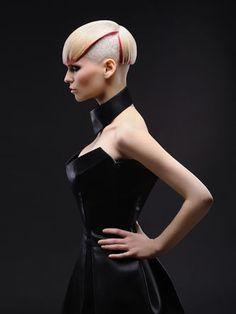 präsentiert von www.my-hair-and-me.de   #blonde #blond #red #rot #haare #hair #short #kurz #sidecut