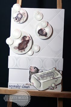 House-Mouse & Friends Monday Challenge, HMFMC, House, Mouse,  Snow, Winter, All White, White on White, Cards, Christmas, Holidays,  http://housemouse-challenge.blogspot.com/