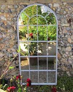 stupendous garden archway. This stupendous bronze gothic garden mirror stands at 3 ft 11 by 2 8 and  is now on sale mirroroutlet GARDEN MIRRORS Pinterest Garden mirrors