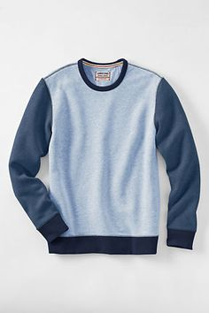 Men's Serious Sweats Crewneck Sweatshirt from Lands' End