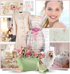 """Pretty in Pastel"" by thewondersoffashion ❤ liked on Polyvore"