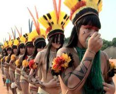 Tribal People, Native American Women, Headdress, Brazil, Captain Hat, App, Movies, World, Amazons
