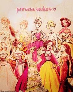Disney Princess Couture