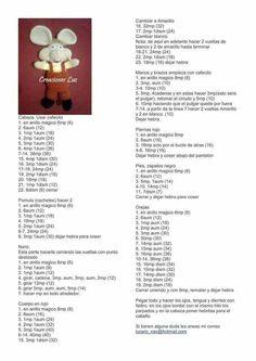 Topo gigio amigurumi patron by teresa a elliott Amigurumi Tutorial, Doll Tutorial, Amigurumi Patterns, Amigurumi Doll, Doll Patterns, Crochet Doll Pattern, Crochet Dolls, Crochet Patterns, Cute Crochet