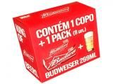 Kit Cerveja Budweiser American Standard Lager - 269ml Cada 8 Unidades com 1 Copo - Magazine Levoubarato American Standard, 1, Black Friday, Note 7, Smartphone, Virgin Party Drinks, Drinkware, Products, Stuff Stuff