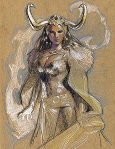 Lady Loki by Gerald Parél