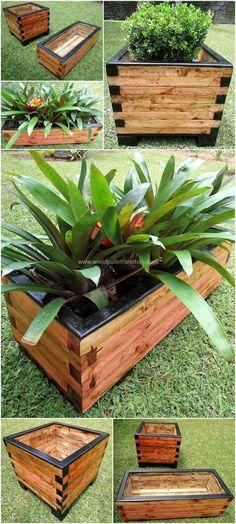 reclaimed pallet planter boxes #pallets #woodpallet #palletfurniture #palletproject #palletideas #recycle #recycledpallet #reclaimed #repurposed #reused #restore #upcycle #diy #palletart #pallet #recycling #upcycling #refurnish #recycled #woodwork #woodworking