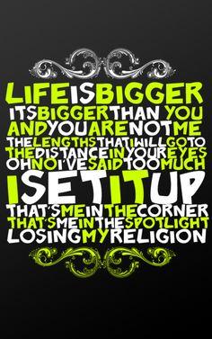 Losing My Religion- R.E.M.
